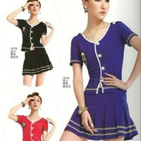 Wholesale Yuzu sauna hotel uniforms OL professional dress suit Slim thin sexy stewardess costume Korean system