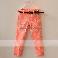 Wholesale Baby Pants Fashion Casual Trousers Child Clothing Girls Pants Kids Trouser Childrens Pants Long Trousers Girl Clothes Children Casual Pants