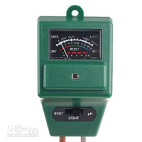 Wholesale 20pcs in Garden Soil Light Luxmeter PH Meter Moisture Tester