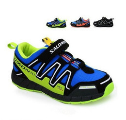 Wholesale Hot Slae Salomon child sport shoes boys and girls sneakers casual athletic shoes children s running shoes for kids Colors EU