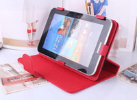 Wholesale 7 quot quot quot Inch Colorful Universal PU Leather Cover Case for quot Tablet PC MID Android Q88
