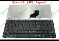 For Acer acer one notebook - New and Original Notebook Laptop keyboard FOR Acer Aspire One D255 D257 D260 Gateway LT21 LT2100 NAV50 Matt Black Spanish SP versio