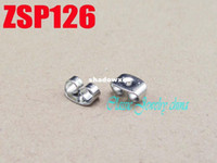 Wholesale stainless steel earring back plug fashion jewelry accessories findings components ZSP126