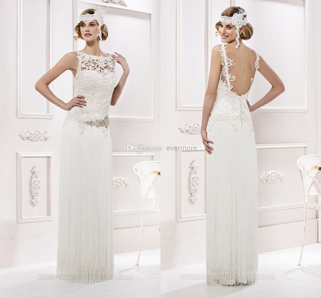 Simple Wedding Dress High Neck : Discount beach wedding dresses of high neck a line
