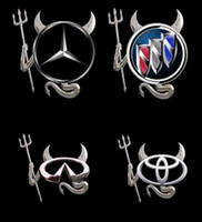 Wholesale Top quality Car Stickers for car Car decal Little Devil stickers PVC car D stereo bumper stickers