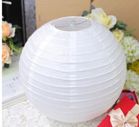 Wholesale Lantern paper lanterns droplight hood size color lampshade lighting holiday decorations is complete white
