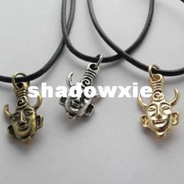 Wholesale Dean s Supernatural Necklace Free Ship Antique Demon Protection Amulet Pendant Necklace Dean amp SamCharm Movie Jewelry