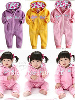 Boy Summer Letter retail ! 2013 Autumn Baby Girl cute hooded rompers bodysuits Hooded casual sportswear siamese romper climbing clothes gift
