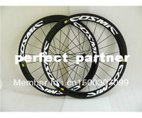 Wholesale COSMIC Full Carbon Road Bicycle Wheelset C mm Tubular Clincher Carbon Mountain Bicycle Wheelset High Quality Creative Design A364