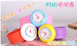 Wholesale 2014 New arrival children s slap watch kids watch gift watches many colors HOT SALE