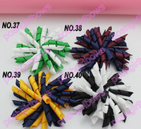 Cotton korker bows - NEw korker hair bows SEW ones korker hair clips boutique corker hair clip