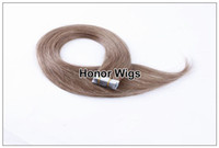 Wholesale Great Lengths Hair Extensions for Womens Silk Straight Skin Weft Hair Extensions Human Chinese Hair g inches HX55 SST
