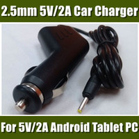 superpad - DHL Cheap V A Car Charger suit for V A Android Tablet PC SuperPAD ZTPad Ainol Pipo Sanei A20 Q88 MID CDQ