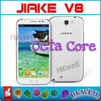 Jiake V8 Octa Core 1. 7GHZ Cell Phone MTK6592 Android4. 2. 2 2G...