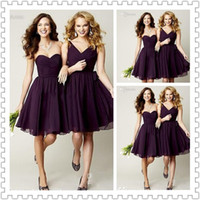 2014 Newest Design V- Neck and Sweetheart Bridesmaid Dress Cu...