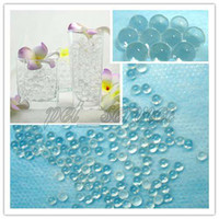 Wholesale 100gram Clear Crystal Jello Beads Water Flower Wedding Party Centerpiece Table Decorations Favours Favor Supplies