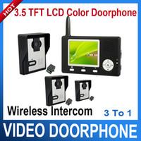 3.5'' 2.4Ghz Wireless video door phone - 2 Ghz quot TFT LCD Wireless Video Door Phone with MP Cameras
