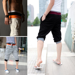 Wholesale Men s Fashion Casual Sport Rope Short Pants Jogging Trousers Adeal
