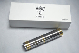 Wholesale Hottest steam ss nemesis clone kylin Mod Battery Body The Avengers series Stainless Steel Gold color