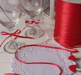 Wholesale Width mm DIY Balloon Ribbon Wedding Ribbons Sashes Party Decoration m