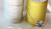 Wholesale Gold Silver Onions Ribbons Wedding Cake Packaging Ribbons Sashes Party Decoration m