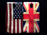 For Samsung note3 N9000 Plastic For Christmas UK USA Flag Retro Case for Samsung Galaxy Note3 III N9000 Hard Plastic Back Cover Beer Tiger Skin case 100pcs lot