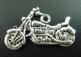 Free Shipping! 30PCs Antique Silver Motorcycle Charms Pendants 24x14mm (B03298) Jewelry making findings DIY hot sale wholesale