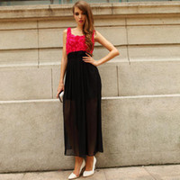 Wholesale HIGH QUALITY Krazy fairy skirt elegant dress three dimensional rose one piece dress ch