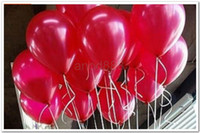 Wholesale inches latex Round balloons decorations for wedding birthday holiday party carnival Valentine s Day