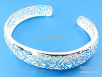 Wholesale made in China Sterling Silver Bangle Cuff Silver Bangle fashion jewelry