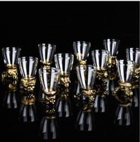 Wholesale 5 cm Eco Friendly Zodiac Series Glass Wine Cup Souvenir Drinking Cup Party Bar Supplies SH241
