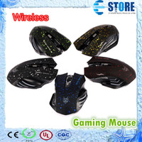 Wholesale 6D Mouse GHz DPI USB Wireless Professional Gaming Mouse Mice For PC Laptop MAC M
