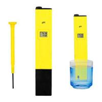 Wholesale S5Q Digital Led Display PH Pen Test Meter Aquarium Hydroponics Probe Tool Tester AAAAEL