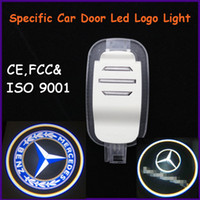 Ghost Light/Welcome Light Wedge front,back EXW Auto spare part,ABS material Mercedes-Benz S-Class specific car door led shadow lights, logo laser projector light