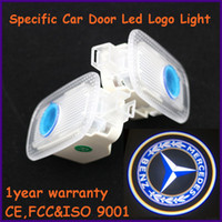Ghost Light/Welcome Light Wedge front,back EXW auto spare part, ABS material Mercedes-Benz specific car door led shadow lights, logo laser projector light