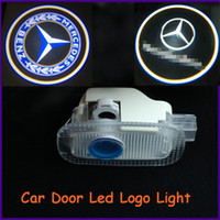 Ghost Light/Welcome Light Wedge front,back Auto body parts, ABS material Mercedes-Benz specific car door led shadow lights, logo laser projector light