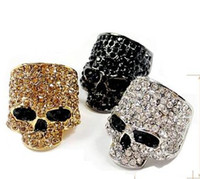 Wholesale Fashion design Skull ring lovers fashion jewelry