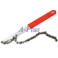 other Yes 28 x 2.6(red handle) x 2(silver chain wh New Bicycle Bike tool Chain Whip Fixie Road Mountain Fold Bike Cassette Freewheel Removal Tool 18403