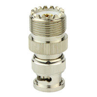 antenna jack - SL16 UHF Female Jack To BNC Male Plug Radio Antenna RF Coaxial Connector Adaptor SL16 UHF BNC KJ J2014D