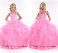 Hot Sale Kids Ball Gown Dress Big Poofy Dresses For Kids