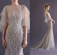 Puffy Paolo Sebastian Dress 2014 Champagne Crystal 1 2 Long ...