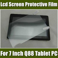 Wholesale DHL For A23 A13 Q88 inch tablet screen protector guard lcd screen protective film PJ