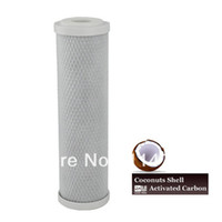 Wholesale 10 quot x quot Coconut Shell based Activated Carbon Block Water Filter Cartridge for Water Purifier