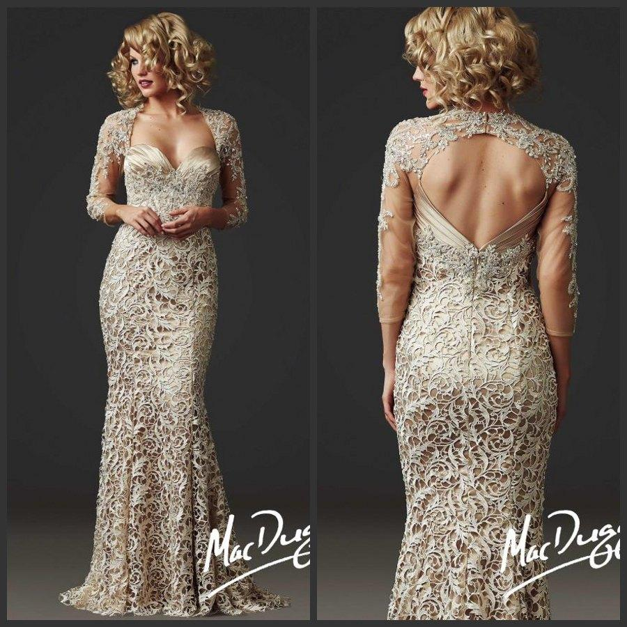 2015 Luxury Champagne Mermaid Mother Of The Bride Dresses