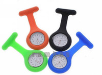 Wholesale Soft Silicon Rubber Gel Nurse Watch Colors