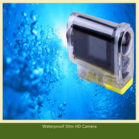 Wholesale HD P inch Water proof Sport mini DV Camcorder DVR with wireless remote control HDMI hw27