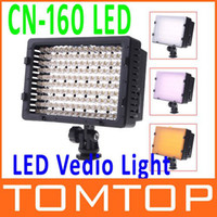 Wholesale CN LED Video Light Camera DV Camcorder Lighting K For Cacon Nikon Hot Sale Led Video Light D610