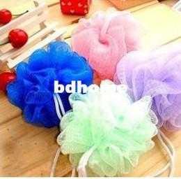 Wholesale Bath Shower Body Exfoliate Puff Sponge Mesh Net Ball
