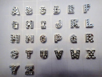 Wholesale 130pcs Alphabet Letter Initial Floating Charms A Z Each style for Lockets