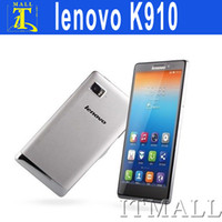 Wholesale Lenovo K910 VIBE Z Snapdragon Android Smart Phone MP Camera GB GB G OTG Quad Core GHz Inch FHD IPS Screen